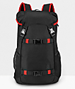 Nixon Landlock III Black & Red Backpack