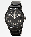Nixon Patrol Black & Silver Analog Watch