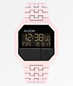 Nixon Re-Run Matte Petal Pink Digital Watch