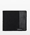 Nixon Showdown Black Canvas Bi-Fold Wallet