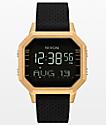Nixon Siren SS Leila reloj digital en oro y negro