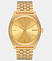Nixon Time Teller All Gold Analog Watch