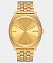 Nixon Time Teller All Gold Analog Watch