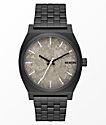Nixon Time Teller Black & Concrete Watch