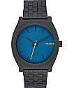 Nixon Time Teller Black & Seaport  Watch