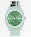 Nixon Time Teller Invisible Mint Analog Watch