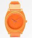 Nixon Time Teller Matte Neon Orange Analog Watch