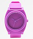 Nixon Time Teller Matte Neon Purple Analog Watch