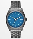 Nixon Time Teller Navy Gunmetal Analog Watch
