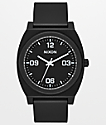 Nixon Time Teller P Corp Black & White Analog Watch
