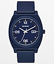 Nixon Time Teller P Corp reloj analógico azul marino y blanco