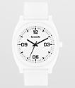 Nixon Time Teller P Corp reloj analógico blanco