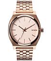 Nixon Time Teller Rose Gold Analog Watch