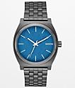 Nixon Time Teller reloj analógico azul marino y gris