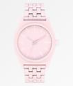 Nixon Time Teller reloj analógico rosa pétalo mate