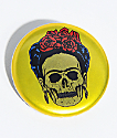NoHours Frieda Skeleton Gold Button