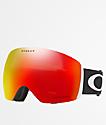 Oakley Flight Deck Black & PRIZM Torch Iridium Snowboard Goggles