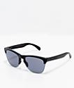 Oakley Frogskins Lite Matte Black Sunglasses