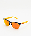 Oakley Frogskins Lite Snapback Navy Sunglasses
