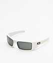 Oakley Gascan Matte White & Prizm Black Sunglasses