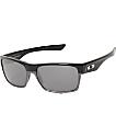 Oakley Two Face All Black Iridium Polished Sunglasses