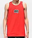 Obey 1990 Red Tank Top