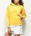 Obey Anna sudadera amarilla con capucha
