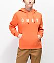 Obey Anyway Orange Hoodie