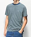 Obey Apex Striped Sage Knit T-Shirt