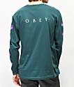 Obey Awakening Pine Long Sleeve T-Shirt
