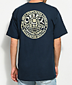 Obey Badge Navy T-Shirt