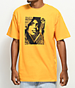 Obey Bias By Numbers camiseta en color dorado