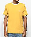 Obey Borstal camiseta amarilla y blanca