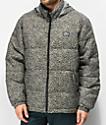 Obey Bouncer Leopard Puffer Jacket