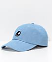 Obey Break Blue Denim Strapback Hat