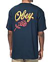 Obey Careless Whisper Navy T-Shirt