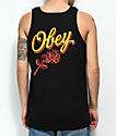 Obey Careless Whispers Black Tank Top