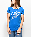 Obey Careless Whispers Imperial Ringer camiseta