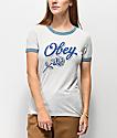 Obey Careless Whispers Sky Ringer camiseta