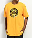 Obey Civil Disobedience camiseta en color dorado