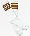 Obey Cooper II White Crew Socks