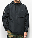Obey Crosstown II chaqueta anorak negra