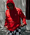 Obey Crosstown IIchaqueta anorak roja