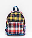 Obey Daria Plaid Mini Backpack
