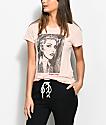 Obey Debbie Harry Fine Art Pink T-Shirt
