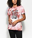 Obey Defiant Dusty Rose Tie Dye T-Shirt