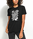 Obey Defiant Rose Black T-Shirt