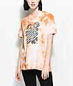 Obey Defiant Rose Dusty Caramel Tie Dye T-Shirt