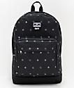 Obey Dropout Juvee mochila negra de símbolos
