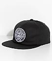 Obey Established 89 II Black Snapback Hat